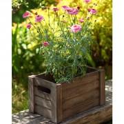 Brązowe-skrzynki-na-kwiaty—drewniane-3